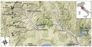Orvieto Italy Map by Metallogeny Exploitation And Environmental Impact Of The Mt