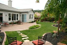 modern landscape ideas for front house pergola home office