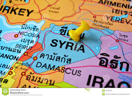 Damascus Syria Map by Map Of Syria Stock Images Image 2453444