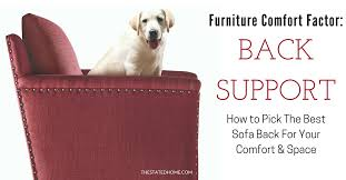 best sofa back support standard sofa height is it right for you the stated home