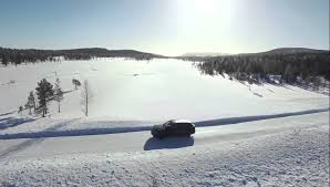 bentley snow bentley bentayga suv in snow in sweden youtube