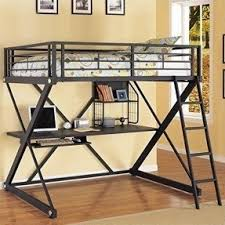 Single Bunk Bed With Desk Bunk Beds With Desks Underneath Foter