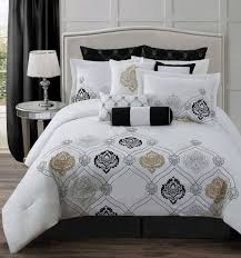 Grey And White Bedding Sets Best 25 White And Gold Comforter Ideas On Pinterest White And