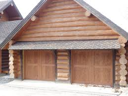 clopay canyon ridge collection faux wood carriage house garage