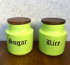 lime green kitchen canisters retro lime green kitchen canisters by fiana pottery kitsch