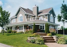 One Floor Houses House Plans With Porches One Story Christmas Ideas Home