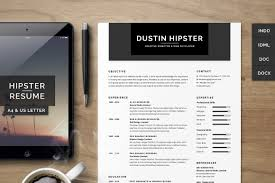 Best Resume Usa by Resume Cv Set The Hipster Resume Templates Creative Market