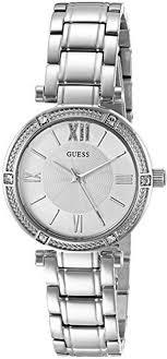 steel bracelet watches images Women 39 s guess petite stainless steel bracelet watch u0767l1 gif