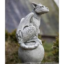 cania international oscar the gargoyle cast garden statue