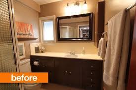 before u0026 after mid century california bathroom meets modern day
