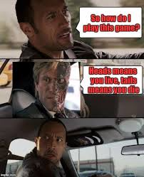 Two Face Meme - the rock driving two face imgflip