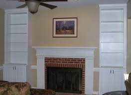 fireplace mantels with built in bookcases insured by laura