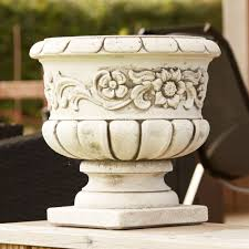 colmar stone plant vase large garden planter buy now at http