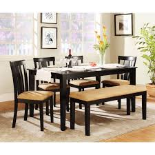 Bench Dining Room Table Set Best 25 Black Dining Table Set Ideas On Pinterest Farmhouse