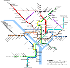 Dc Metro Map Overlay by Fantasy Transit Maps Map Metro Subway Architect Urban