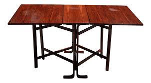 westnofa vintage mid century rosewood dining table chairish