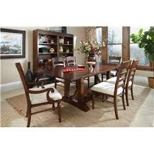 Klaussner Dining Room Furniture Carolina Preserves By Klaussner Blue Ridge 426 096 Drt Trestle