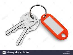 red key rings images Key chain stock photos key chain stock images alamy jpg