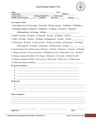 mental status exam template 43 progress notes templates mental health psychotherapy nursing