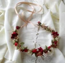 hair wreath gorgeous woodland hair wreath flower crown winter weddings
