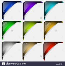 framework design corner corners frame colorful page sheet framework design