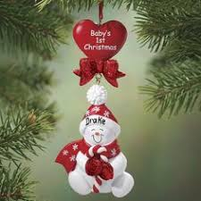 grandparents personalized ornament baby