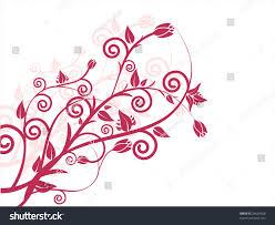 floral ornaments vector stock vector 34634608