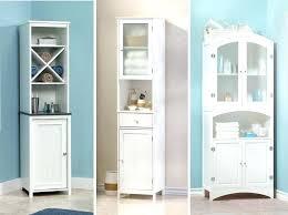 bathroom linen cabinet with glass doors bathroom linen tower cabinet w x h linen tower palmetto bathroom