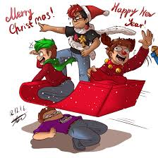 draw the merry holidays by aquagd on deviantart