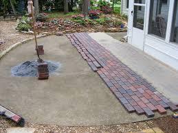 the 25 best pavers over concrete ideas on pinterest patio ideas