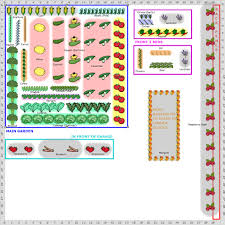 planning vegetable garden layout diagram ideas for beginners small