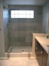 tub and shower tile ideas moden white wooden frame glass door