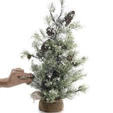 small tree small artificial pine tree