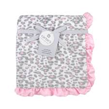halloween city cda carter u0027s pink cheetah valboa blanket toys