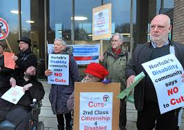 Norfolk County Council Committee System Protest Outside County Norwich Against Norfolk County Flickr