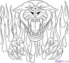 black panther coloring free download