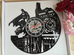 amazon com vinyl evolution batman dark knight wall clock black