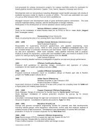 Structural Design Engineer Resume Chronological General Engineer Resume Template Page 3