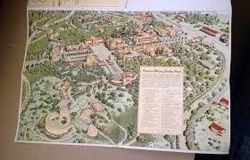 Map Of Balboa Park San Diego by 1940s 50s Era San Diego Zoo Balboa Park Brochure Map Travel