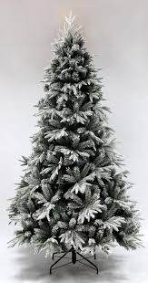 the snowy alpine tree 5ft to 7ft decorations
