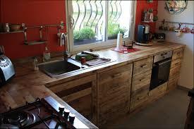 table de cuisine en palette enchanteur cuisine en palette et cuisine bois armoire de en