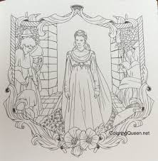 princess bride story book color review coloring queen