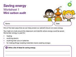 saving energy resources