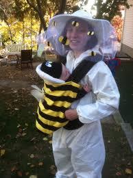 my baby wearing halloween costume babble