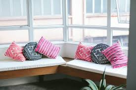 Bench Seat Cushion Diy No Sew Bench Seat Cushions A Pair U0026 A Spare