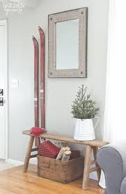 Skiing Polar Bear Christmas Decoration by Best 25 Vintage Ski Decor Ideas On Pinterest Tree Coat Rack