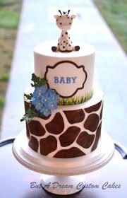 giraffe themed baby shower cake decorations pinterest
