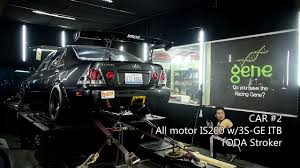 lexus is200 sport body kit motorklasse lexus is200 dyno youtube