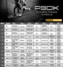 p90x training schedule for your next 10k or marathon how do i
