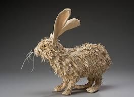 paper mache rabbit nancy winn papier mâché sculpture papier mache